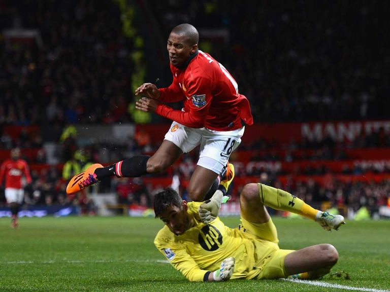 Ashley Young: Reportedly one of those under threat at Old Trafford