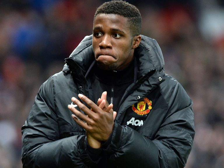 Wilfried Zaha: Barely given a chance under David Moyes