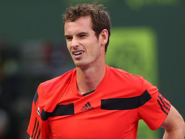 Andy Murray: Bowed out in the secoind round in Doha