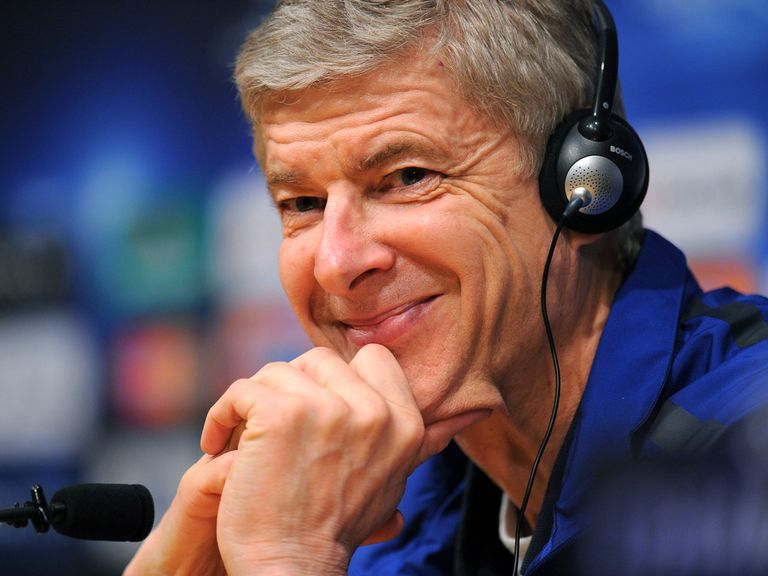 Arsene Wenger: Set for Arsenal stay