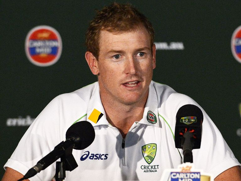 George Bailey: Left out of Australia's Test squad