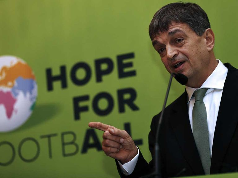 Jerome Champagne: Wants to stand for FIFA presidency