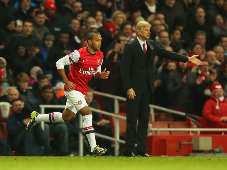 Theo Walcott: Will be missed by Arsenal and England