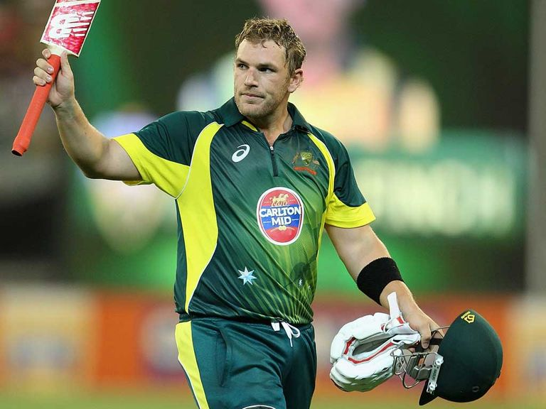 Aaron Finch: Heading to Yorkshire in May