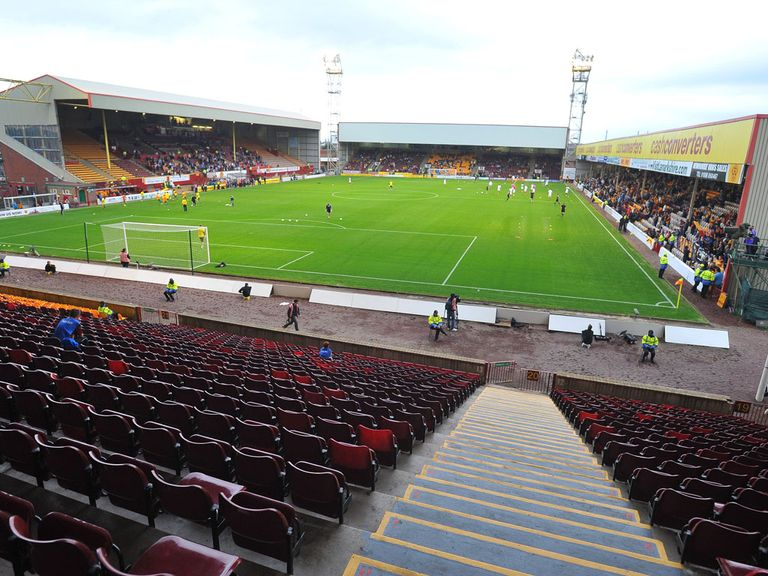 Fir Park: Waterlogged so Saturday game off