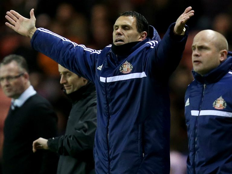 Gus Poyet: Looking forward to Tuesday night's game