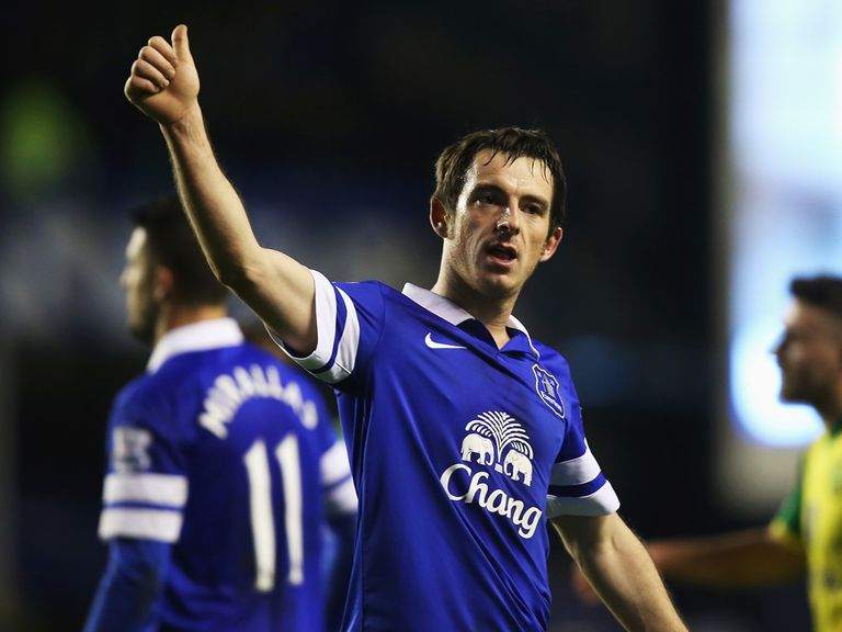 Leighton Baines: Signed a new four-year deal with Everton this week