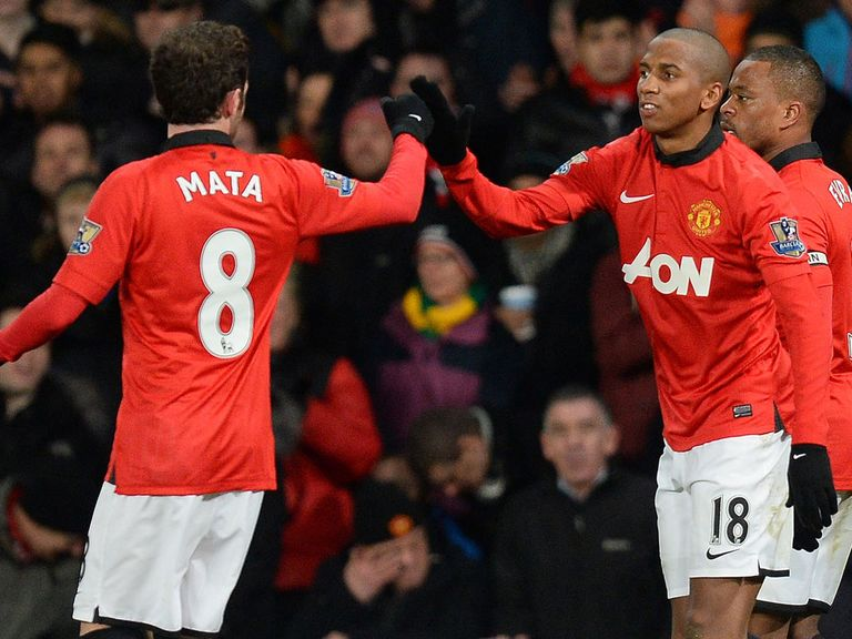 Juan Mata and Ashley Young linked up to good effect