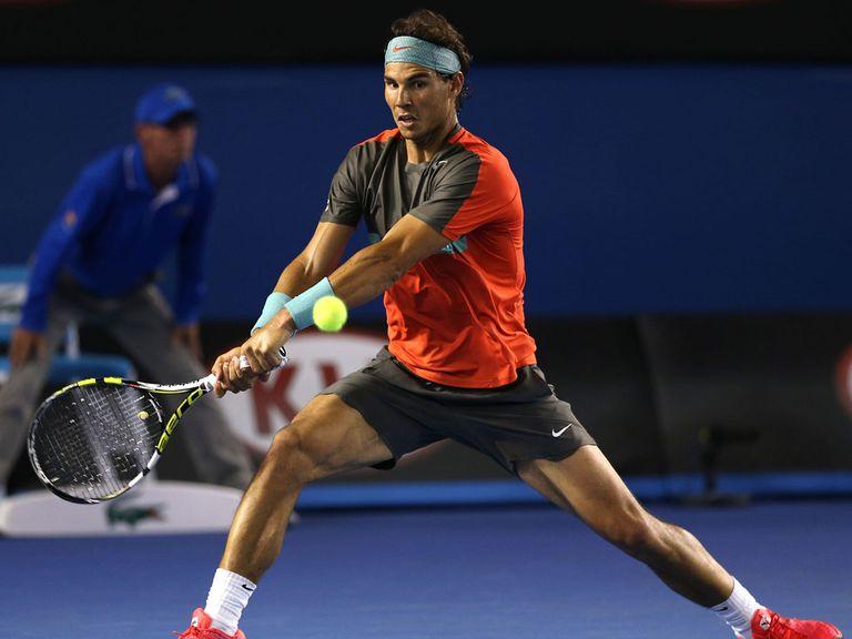 Rafael Nadal: Comfortable winner