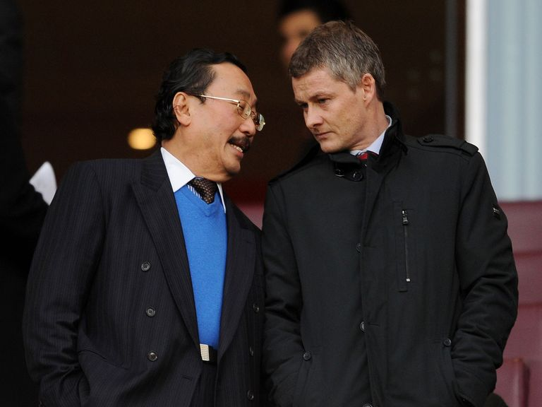 Vincent Tan recently turned to Ole Gunnar Solskjaer