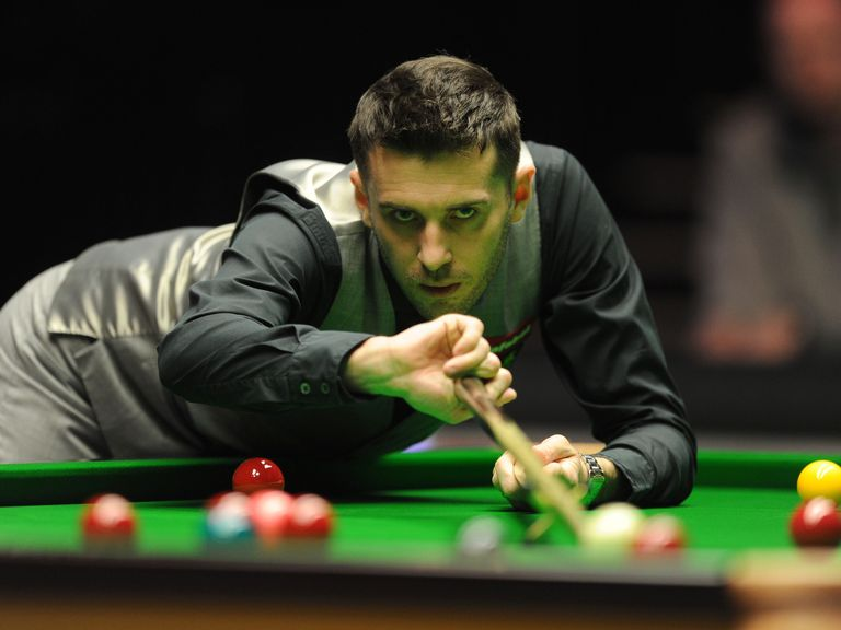 Mark Selby: Overdue success at the Crucible