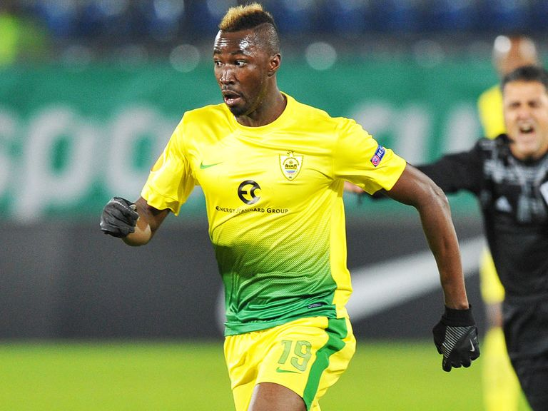 Lacina Traore: Heading to Everton on loan