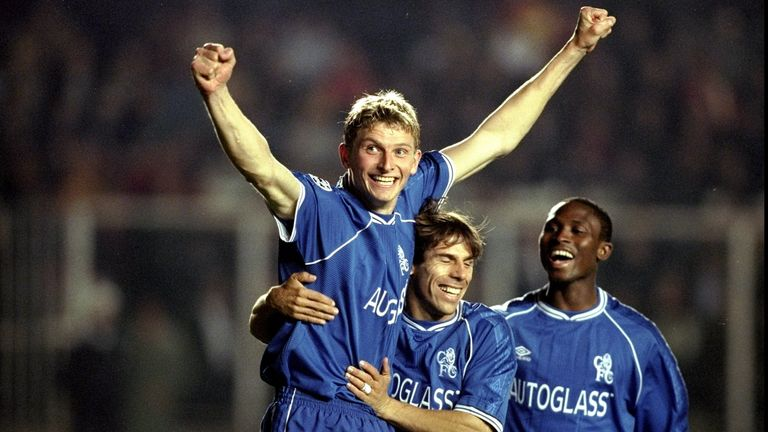 Flo played for Chelsea between 1997 and 2000