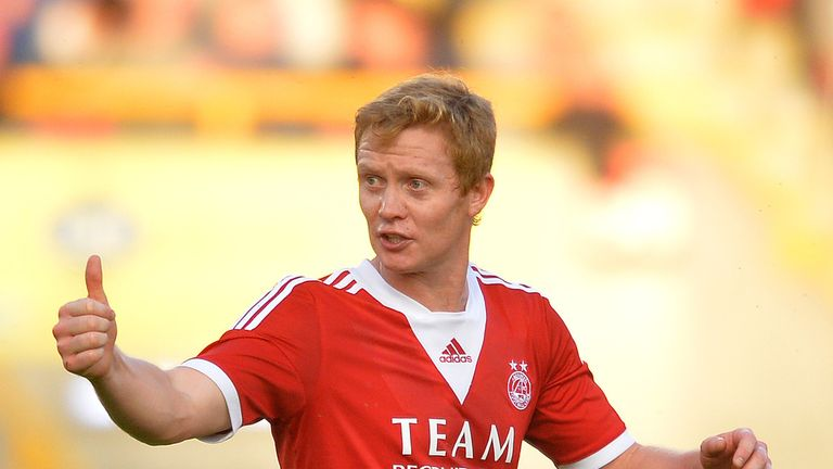 Barry Robson: In talks over a new deal at Aberdeen