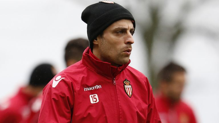 Dimitar Berbatov: Netted his first goal for Monaco