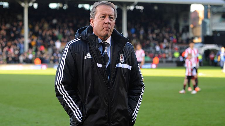Alan Curbishley: Disappointed to leave his role with Fulham