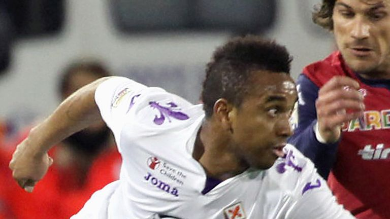 Anderson: Midfielder wants a long-term deal at Fiorentina
