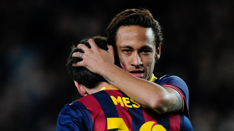 Neymar and Lionel Messi: On top form for Barca