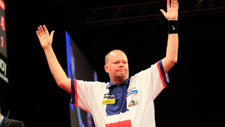 Dutch delight: Raymond van Barneveld won both his games in Sheffield
