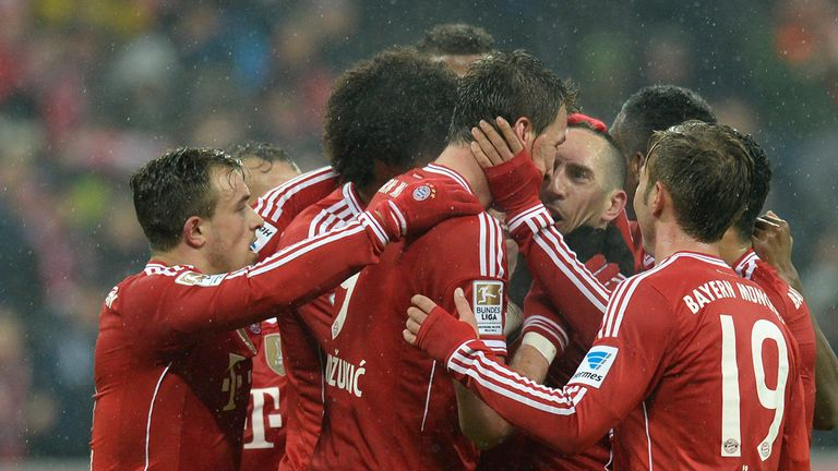 Bayern Munich: Unbeaten in 45 in the league
