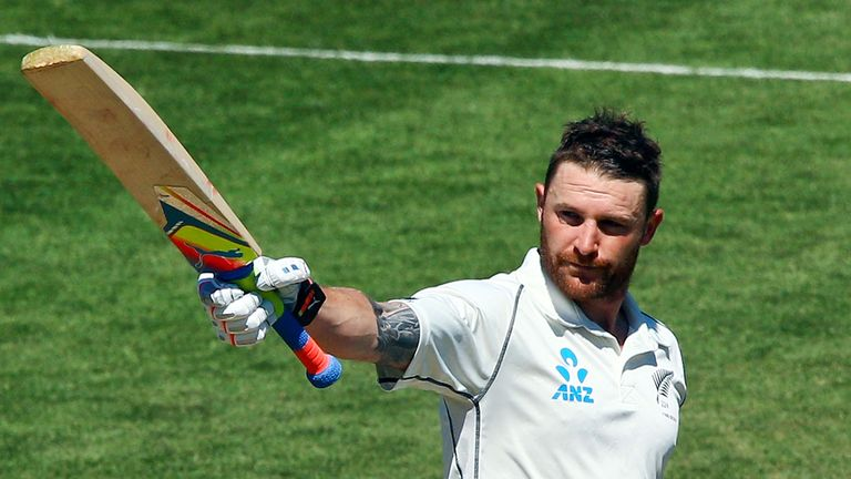 Brendon McCullum: Drew a bumper crowd on final day in Wellington
