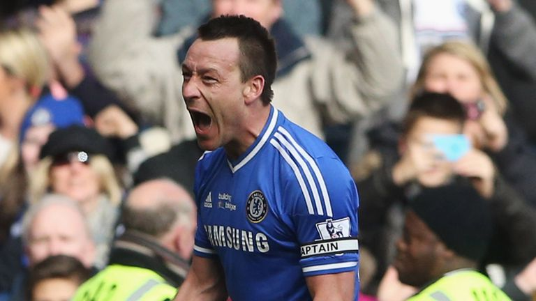 Chelsea's defence, marshalled by John Terry, has boosted their title challenge