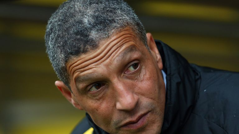 Chris Hughton: Sacked by Norwich City
