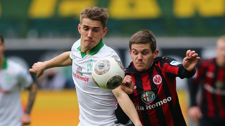 Sebastian Jung (r): Eintracht Frankfurt defender has Wolfsburg interest