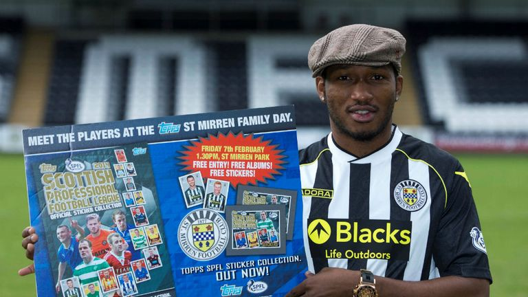 Eric Djemba-Djemba: 'Raring to go at St Mirren'