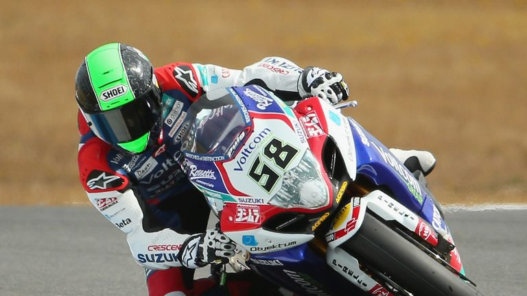 Eugene Laverty: Stunning triumph for Suzuki