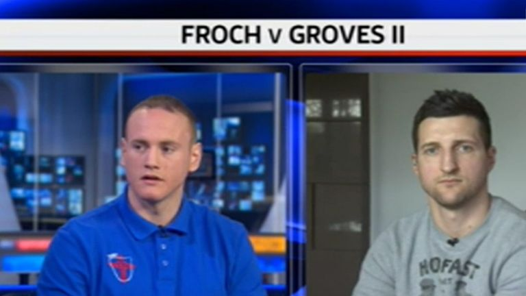 Carl Froch and George Groves are to square off once again
