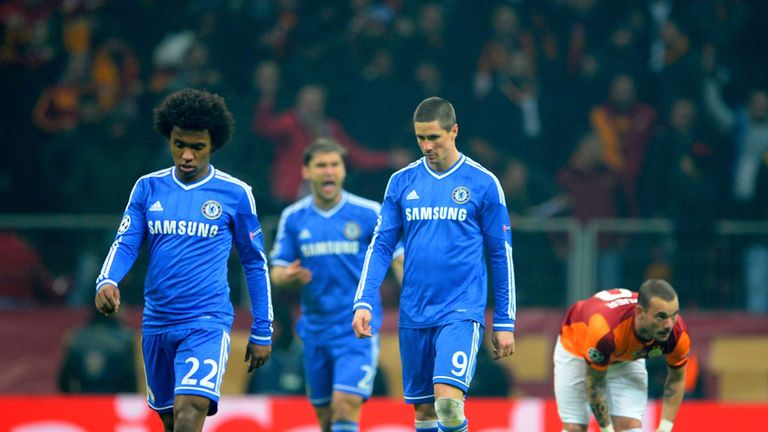 Chelsea: Had to settle for a draw in the first leg of their tie with Galatasaray
