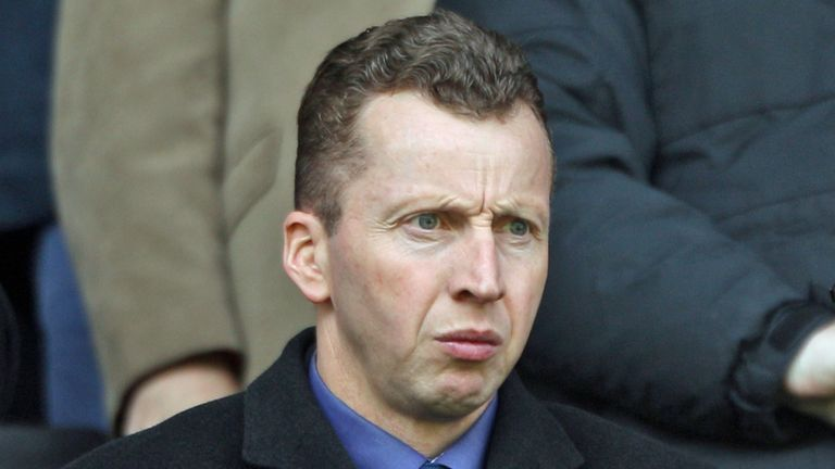 Nicky Hammond: Reading director of football