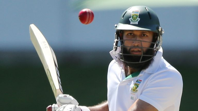Hashim Amla: South Africa No 3 seven short of his century at the close
