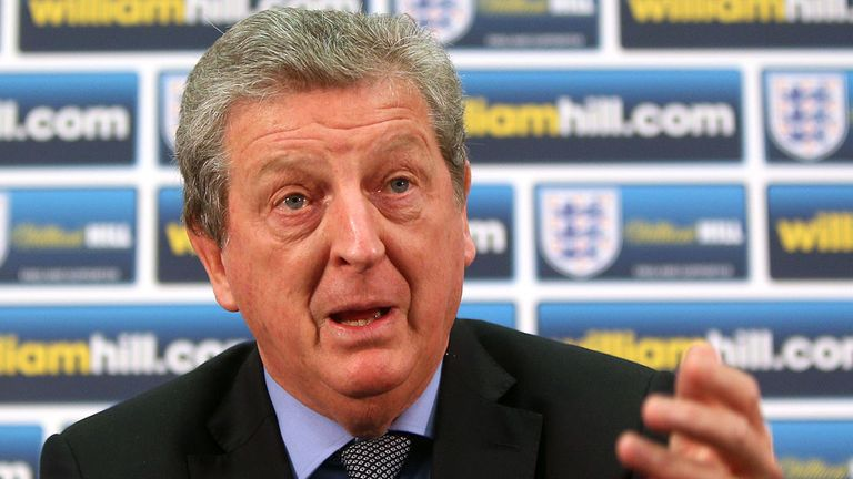 Roy Hodgson: Experimental line-up could face Denmark