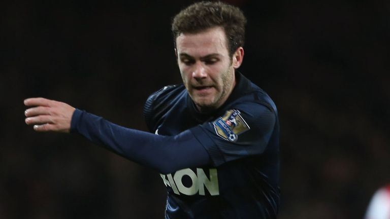 Juan Mata: Not eligible to play for Manchester United in the Champions League