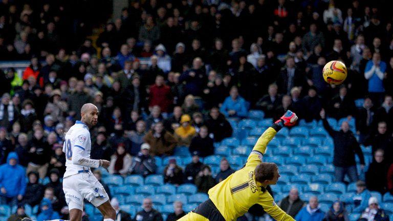 Jimmy Kebe: On target against Huddersfield