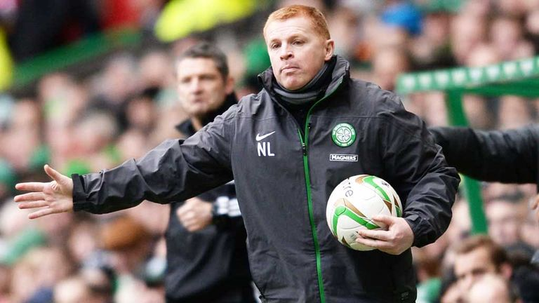 Neil Lennon: Admitted his Celtic side had failed to sparkle in 1-1 draw against Ross County