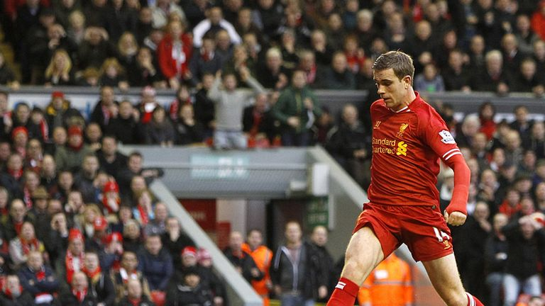 Jordan Henderson: Match-winner against Swansea