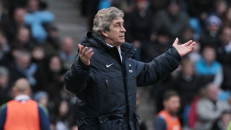 Manuel Pellegrini: Was critical of the ref after the loss to Barcelona