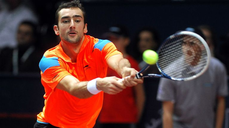 Marin Cilic: The unseeded Croatian will face Jo-Wilfried Tsonga next
