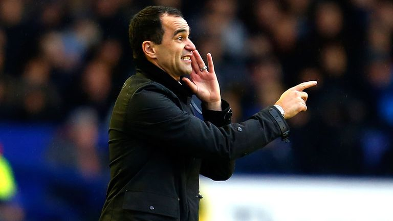 Roberto Martinez: The Everton boss was proud of his side's response