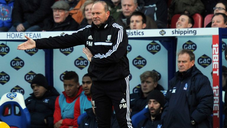 Pepe Mel: West Bromwich Albion manager's job is not under threat