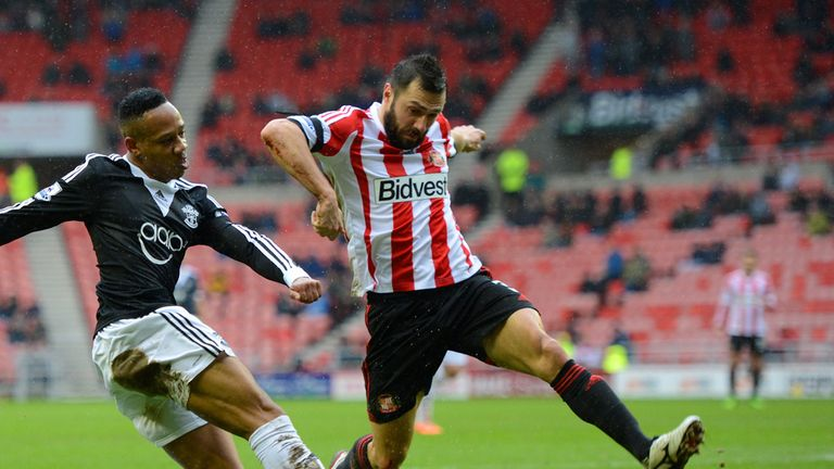 Andrea Dossena: Searching for a new club after Sunderland exit