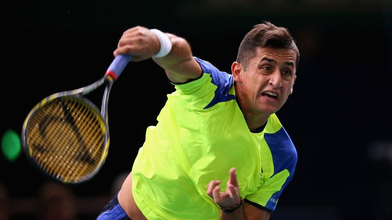 Nicolas Almagro: Won his first competitive match in more than three months in Chile