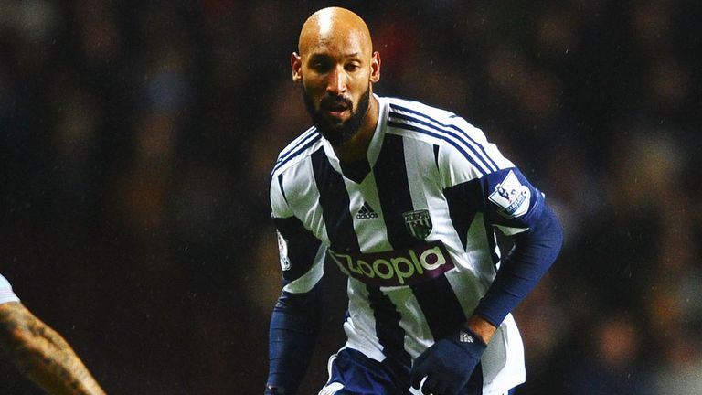 Anelka: Banned for five games by the FA and suspended by West Brom