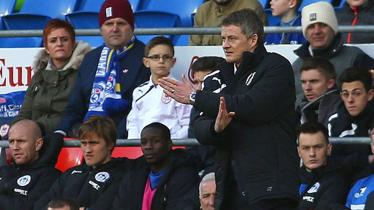 Ole Gunnar Solskjaer: Saw Cardiff dumped out of the FA Cup