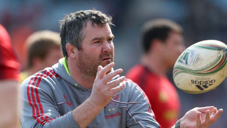 Anthony Foley: named the new coach at Munster.