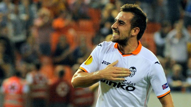 Paco Alcacer: Hit the winner for Valencia