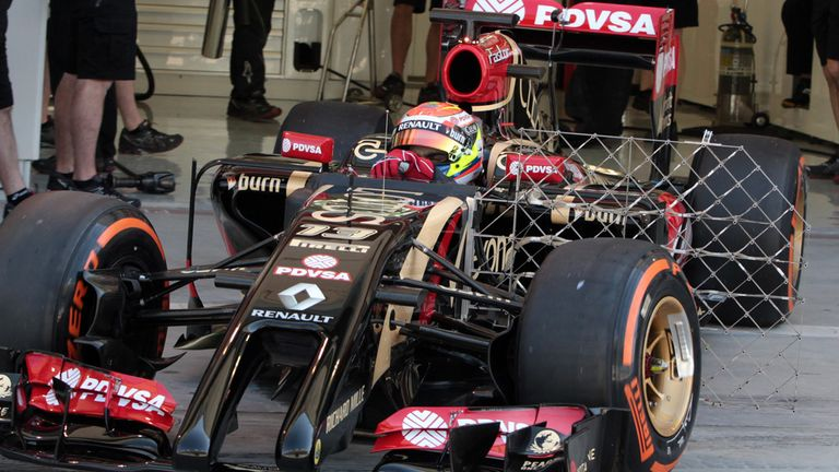 Pastor Maldonado: Ran Renault power unit at full power on Saturday